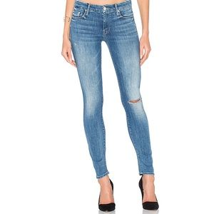 MOTHER 'The Looker' Here Kitty Kitty Skinny Jeans